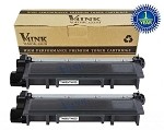 TN660/TN630 Toner, Black, 2 Pack
