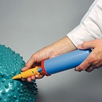 Handheld Exercise Ball Pump