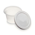 (3 pkgs) Putty Containers, 6oz, 10 per pack
