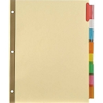 Insertable Reference Dividers, 8-Tab